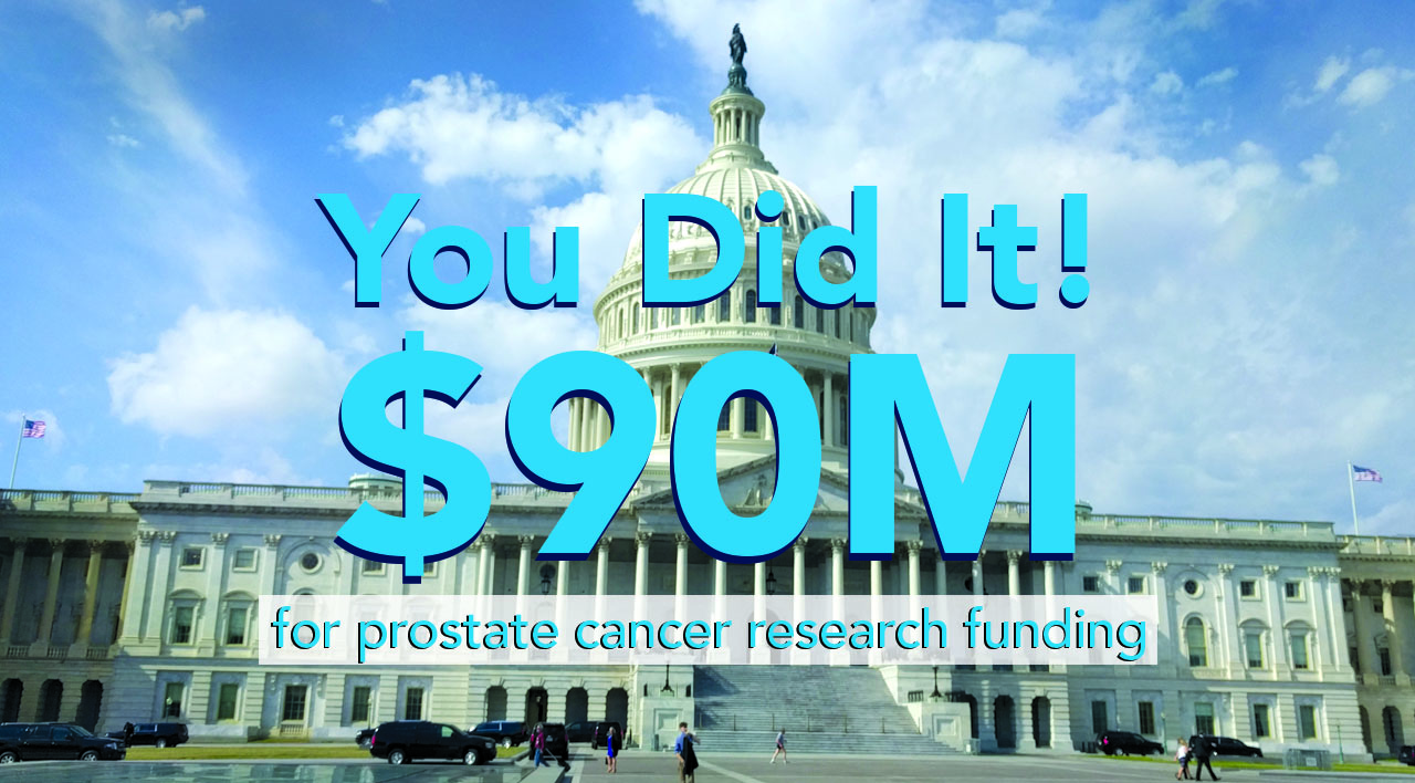 $90 Million for the Prostate Cancer Research Program