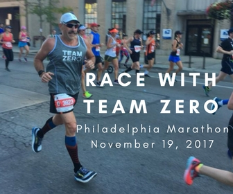 Philadelphia Marathon with Team ZERO