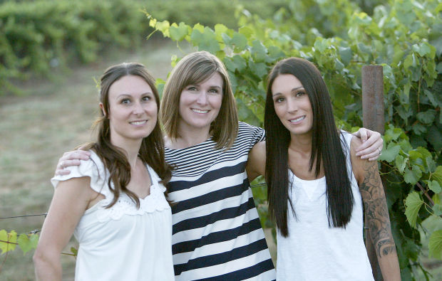 Sarah Dunn, Amy Donaldson, and Julie Memmott