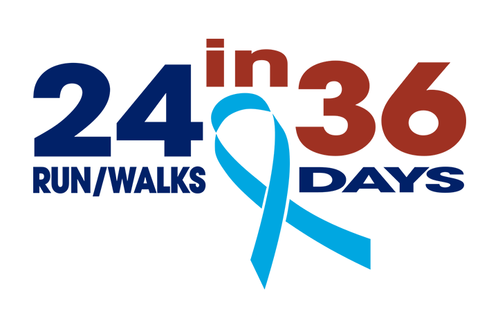 24 Run/Walks in 36 Days