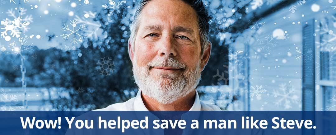 Wow! You helped a man like Steve!