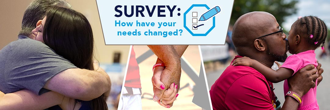Survey: how have your needs changed?