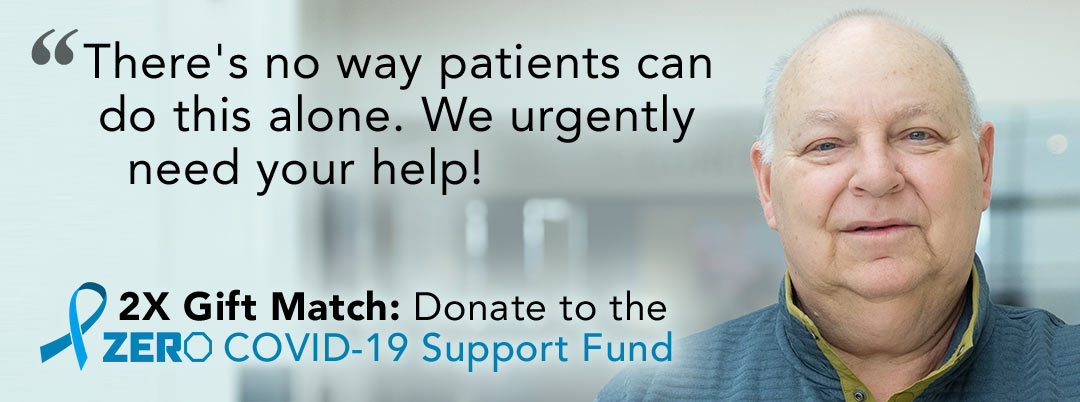 There is no way patients can do this without alone, we urgently need your help!