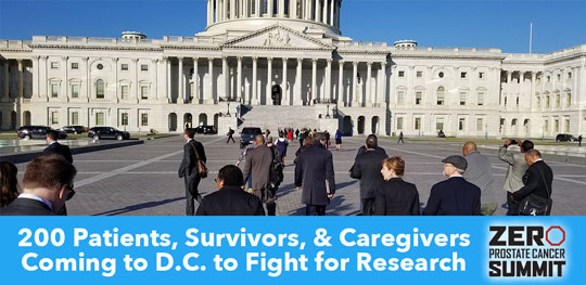 200 Patients, Survivors, and Caregivers, fighting for research