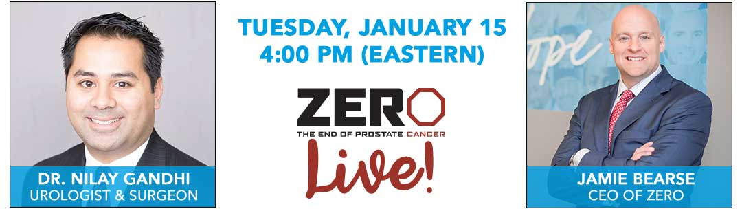 ZERO Live!: Tuesday, January 15 at 4:00 PM (ET)