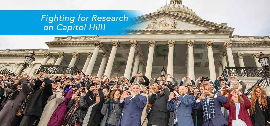 Fighting for research on Capitol Hill!