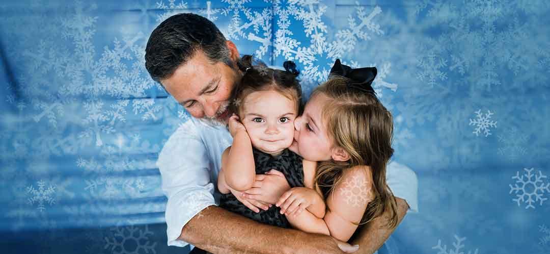Steve & His Granddaughters