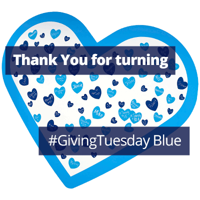 Thank You for Turning #GivingTuesday Blue