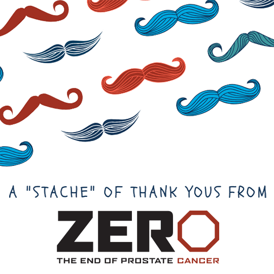 A 'Stache of Thank You's from ZERO