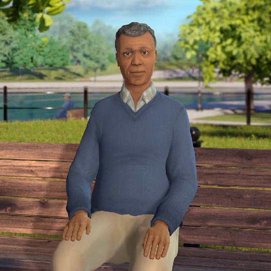 Meet Nathan, a digital avatar for questions about prosate cancer