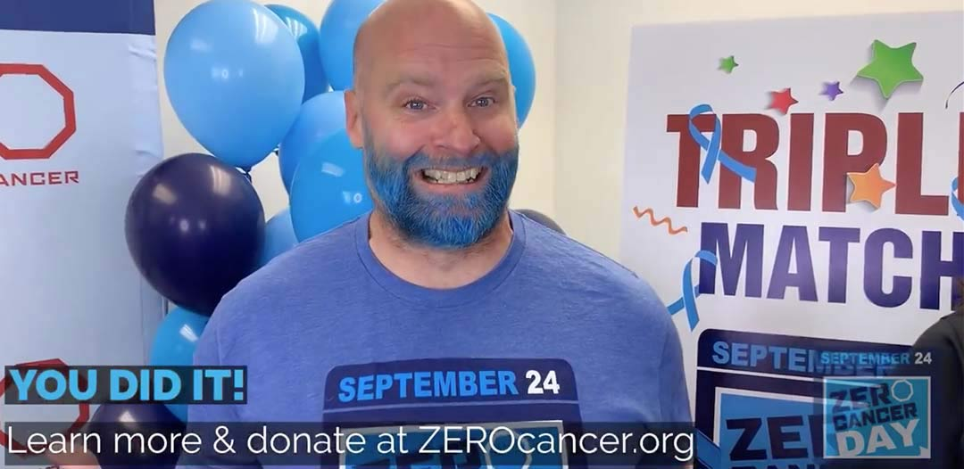 You rose to the challenge, and made Jamie dye his beard blue