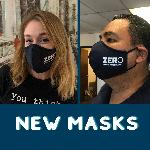 Click here for more information about *NEW* ZERO Face Masks